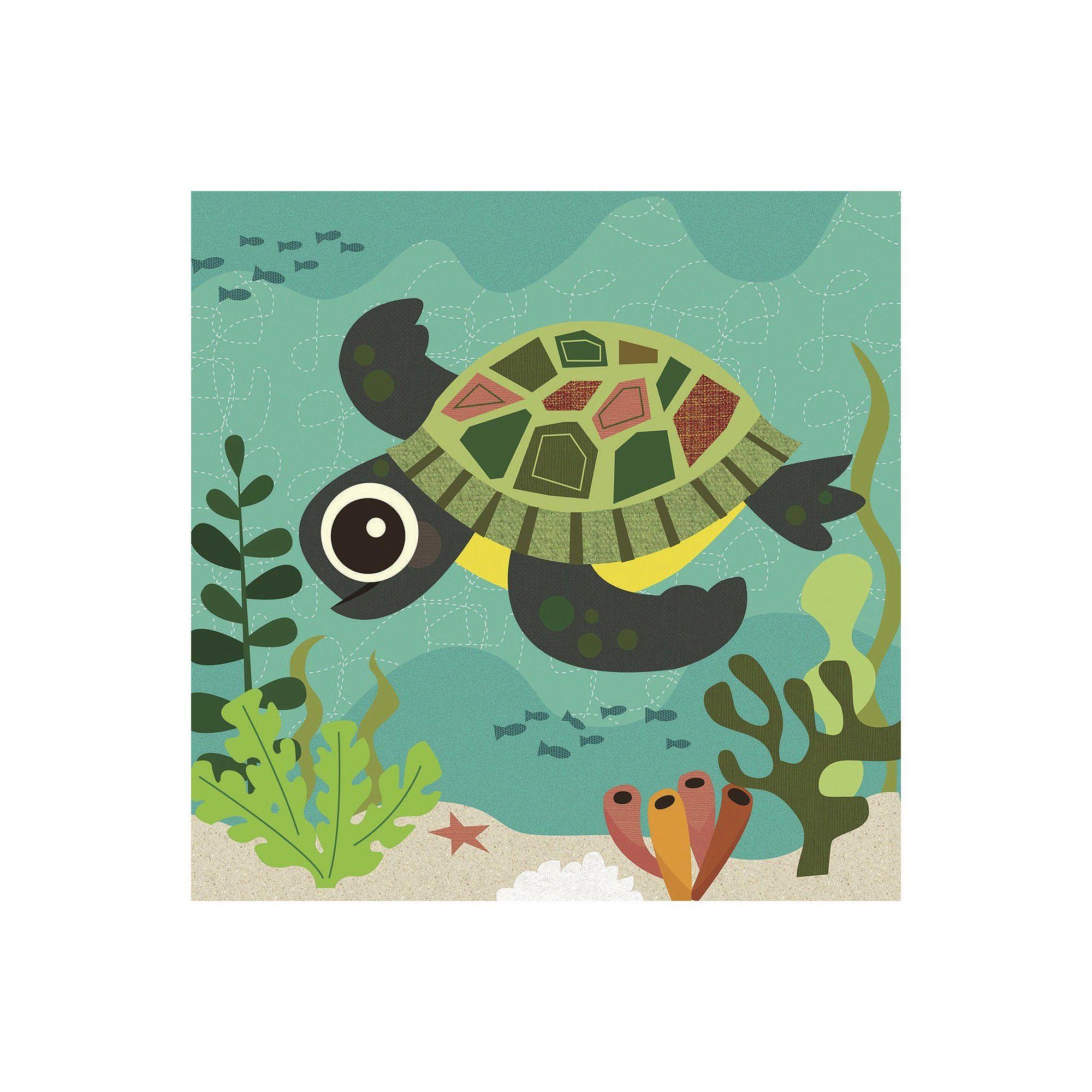 Art.com - Ocean Friends Terrance Art Print