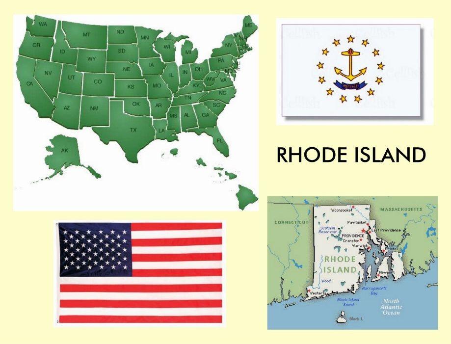 Rhode Island - Vereinigte Staaten von Amerika / United States of America / USA