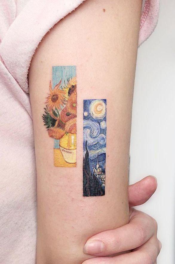 Photo of Inspiração para tatuagem pequena de Van Gogh