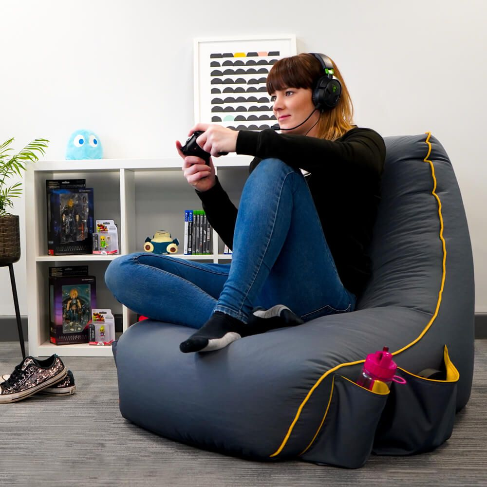 Rugame Gaming Bean Bag Chair Rucomfy Beanbags Bean Bag Chair Bean Bag Gaming Chair Bean Bag