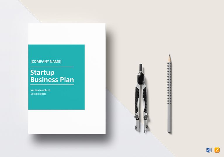 Startup Business Plan Template  Formats Included  Pages Ms