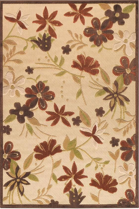 Botanical Area Rug I Outdoor Rugs Synthetic Rugs Rugs