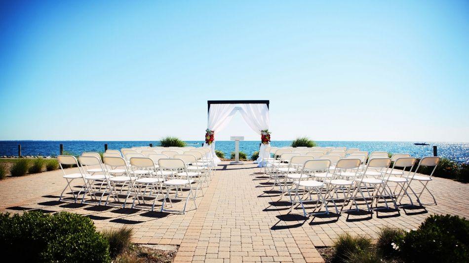 Elegant Unique Wedding Venue Infinity Ovation Yacht Charters