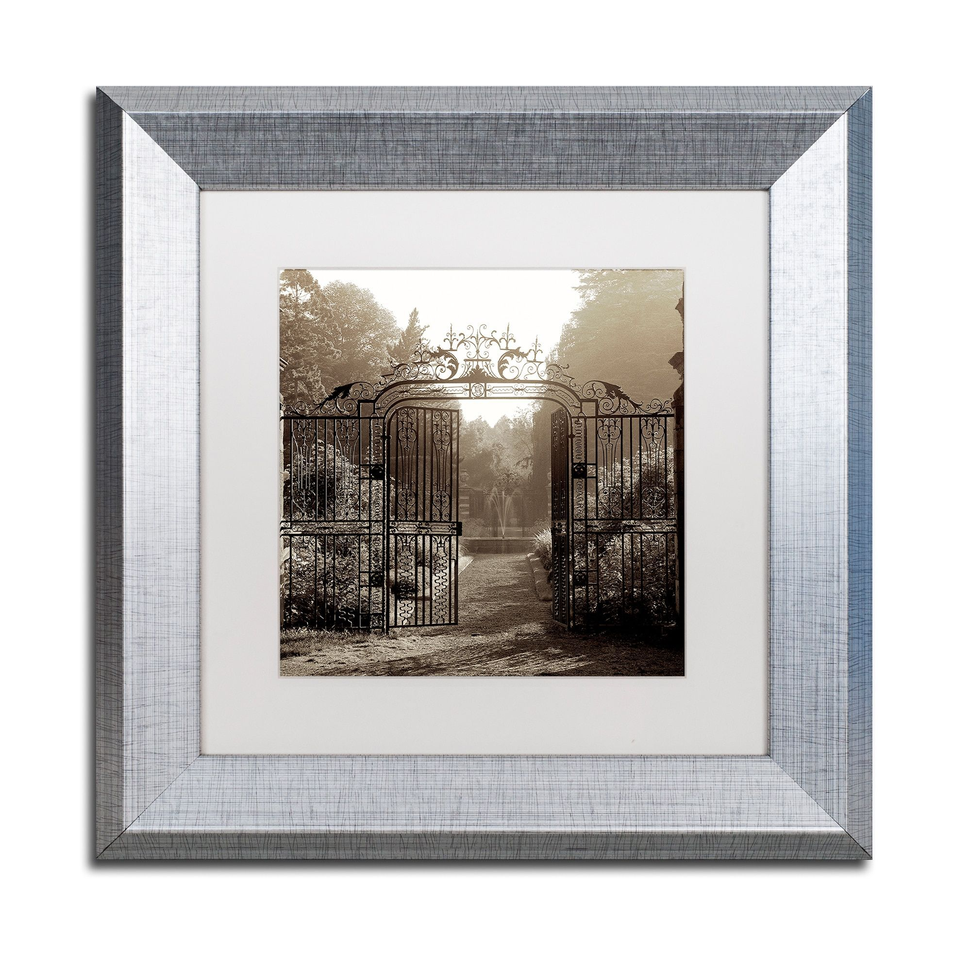 Alan Blaustein Hampton Gates Iii Matted Framed Art