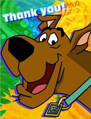 Scooby Doo Mystery Thank You Notes 8pk Alice S Birthday Ideas
