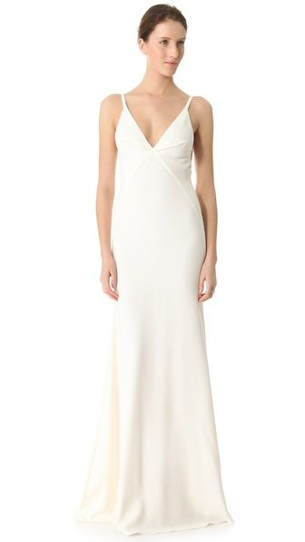 Nuri Gown | Calvin klein collection, Gowns and Wedding