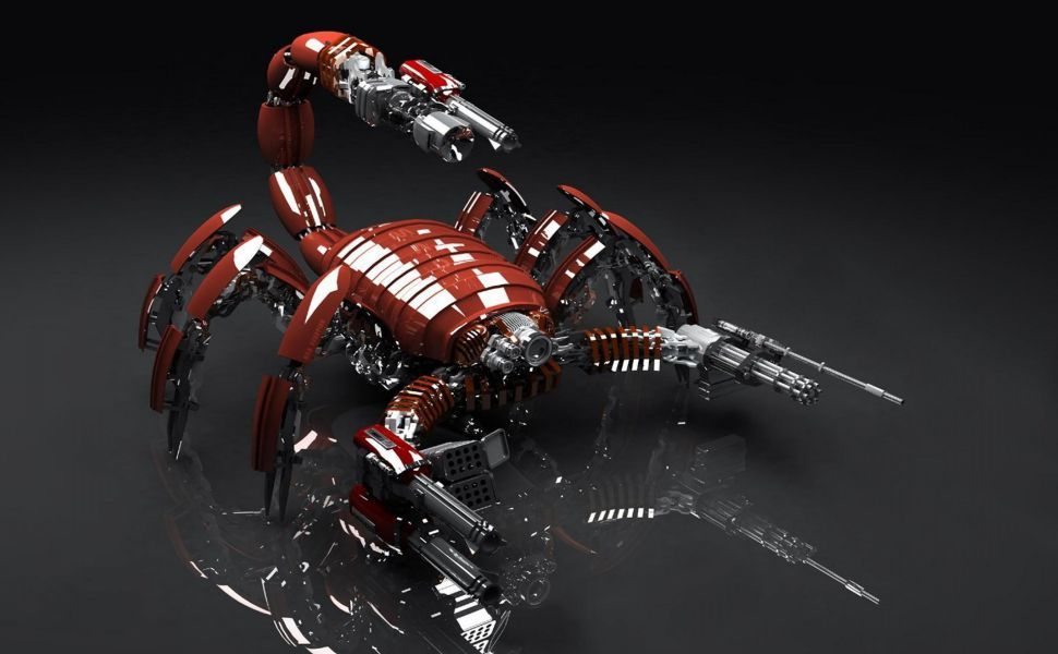 Scorpion 3d Hd Wallpaper Background Images Hd Background Images Wallpaper