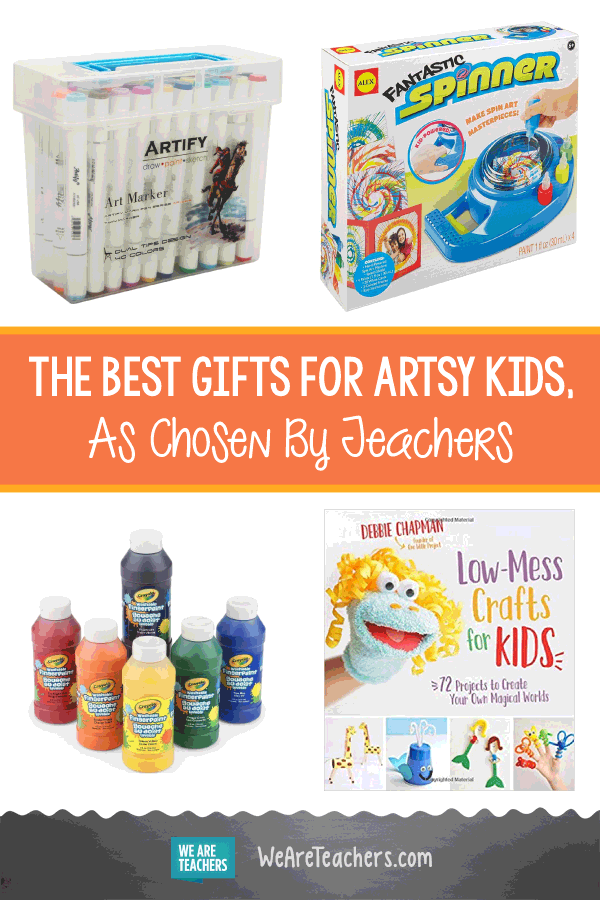 The Best Gifts For Artsy Kids, As Chosen By Teachers ...