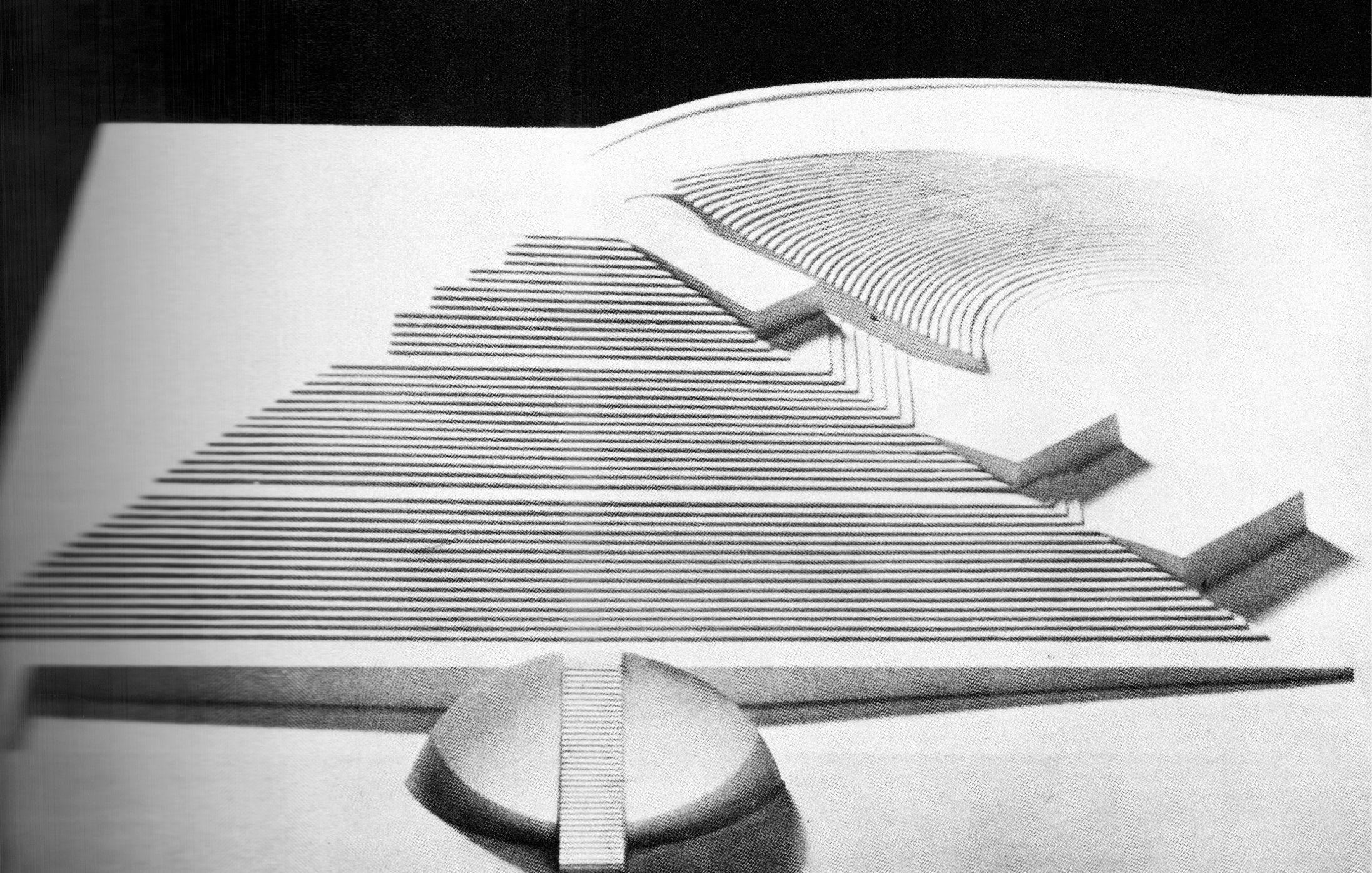 Isamu Noguchi. Play Mountain, plaster model, 1933 | Architectural ... for Noguchi Landscape  165jwn