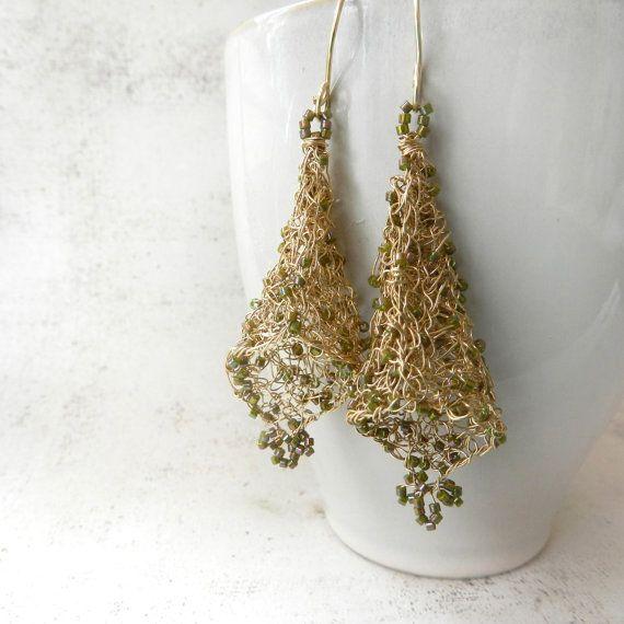 Wire Crochet Earrings Wire Center