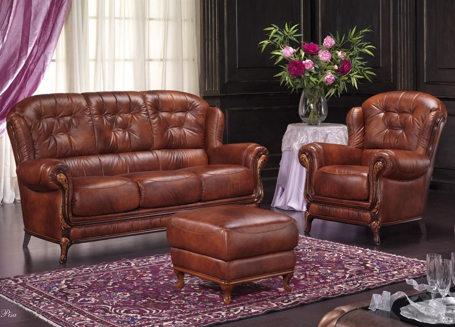 Bardi Pisa Leather Sofa Collection From George Tannahill Sons Leather Sofa Bedroom Decor Chair