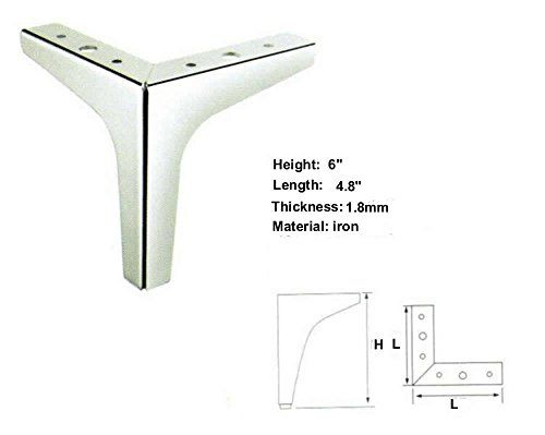 Tufted Sofa  Height Straight Metal Chrome Sofa Legs Replacement Par https
