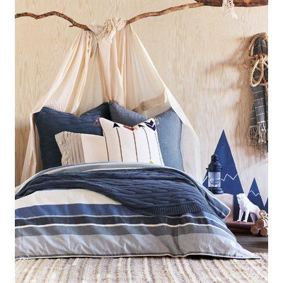 Eastern Accents Bennett Reversible Duvet Cover Set Duvet Cover