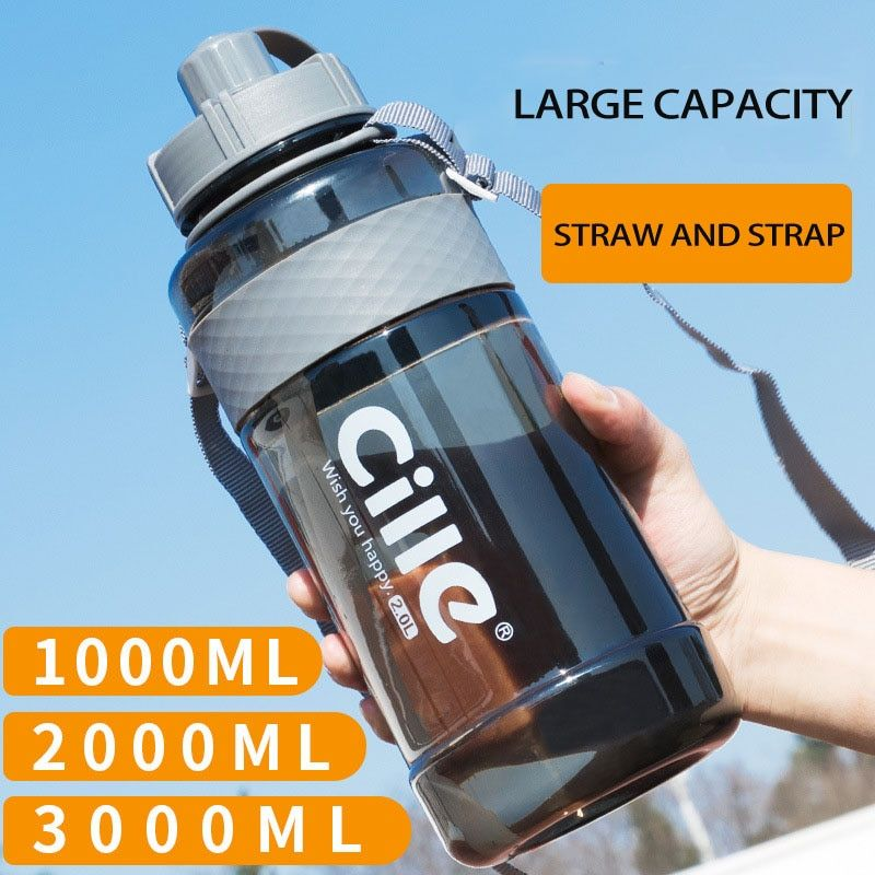 Cycling Outdoor Sport Portable Bicycle Camping Drink Jug Water Bottle 750M clTOC
