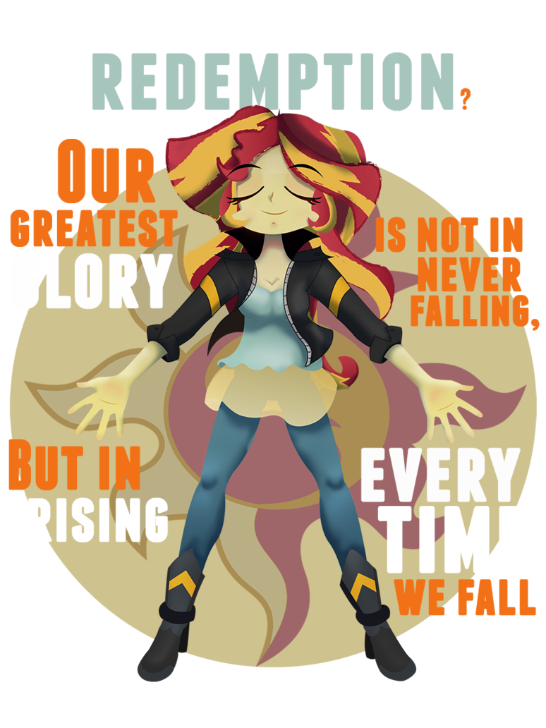 Not For You Sunset Shimmer Never Any Redemption For You Ive Seen