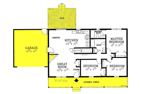 Bluff City Ranch House Plans