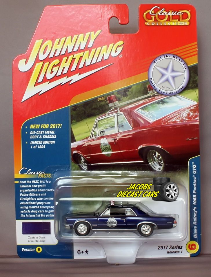 Johnny Lightning Classic Gold Blake Rainey S