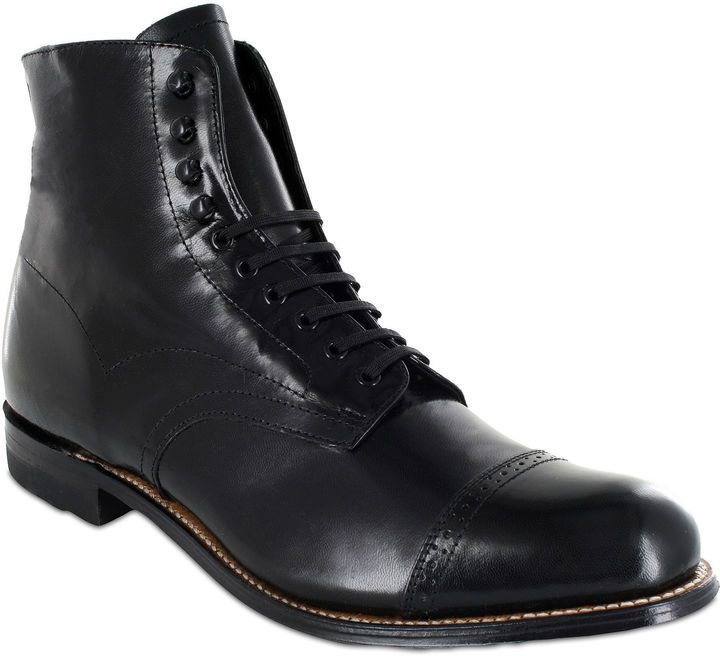 47f4eed49808 Pin by Lookastic on Brogue Boots   Combat Boots