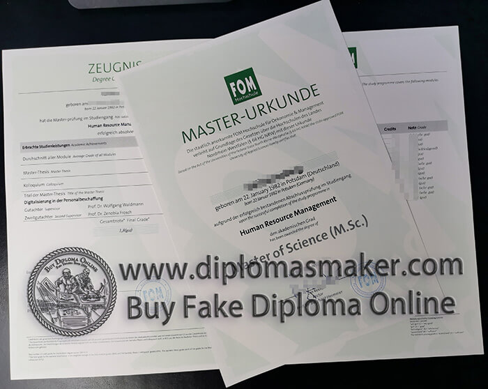 How To Buy Fom Hochschule Diploma And Transcripts In 2020 Presentation Skills Certificates Online Corporate Management