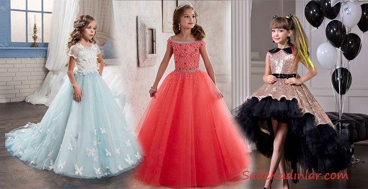 Cocuk Abiye Modelleri Masalsi Renkleri Ile Goz Kamastiriyor The Dress Moda Stilleri Balo Elbiseleri