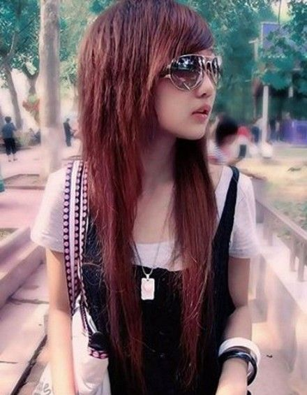 Asian Hairstyles For Women 2017 0 Razored Layers