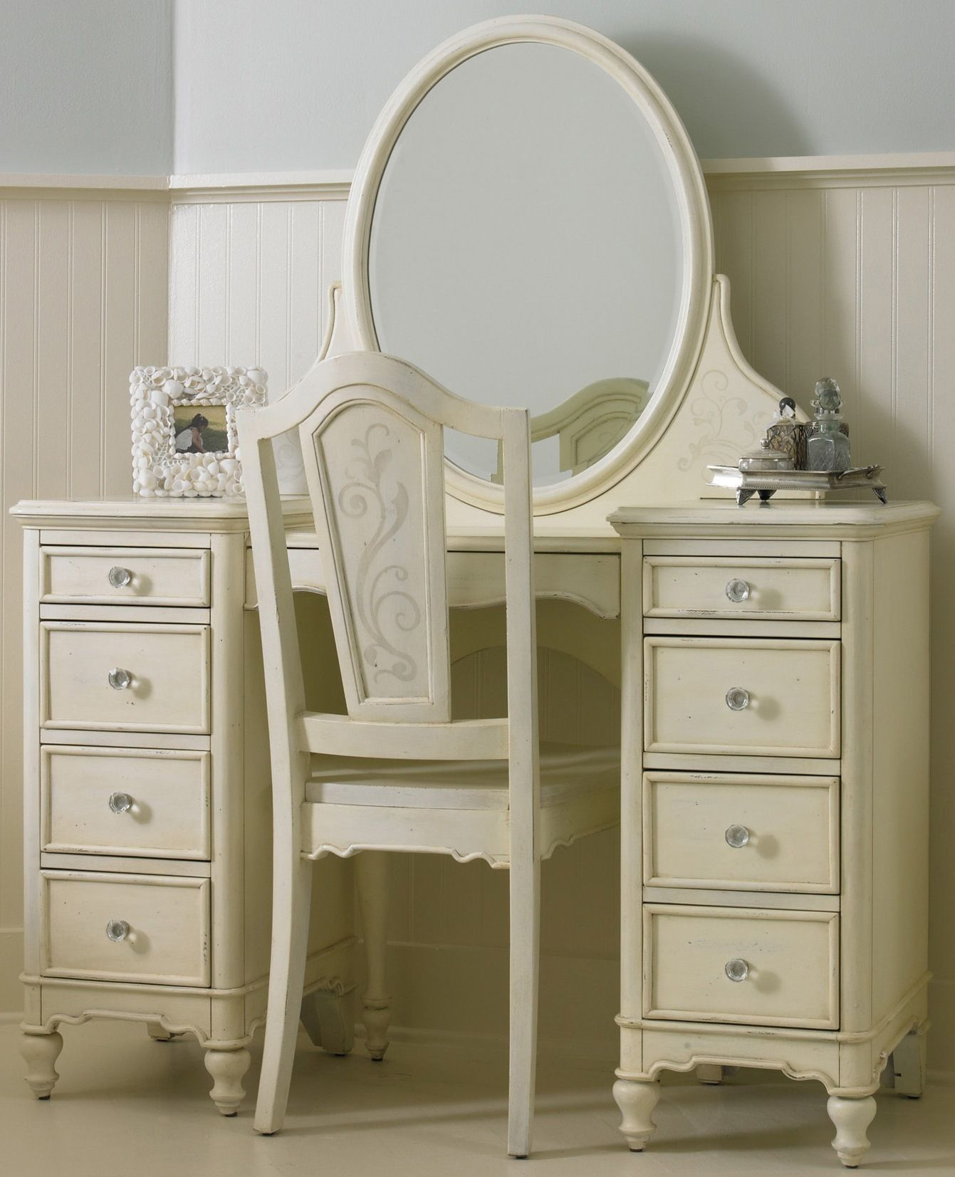 Hooker Furniture Bathroom Vanity: Cheap Opus Designs By Hooker Vanity Desk Set In Beige