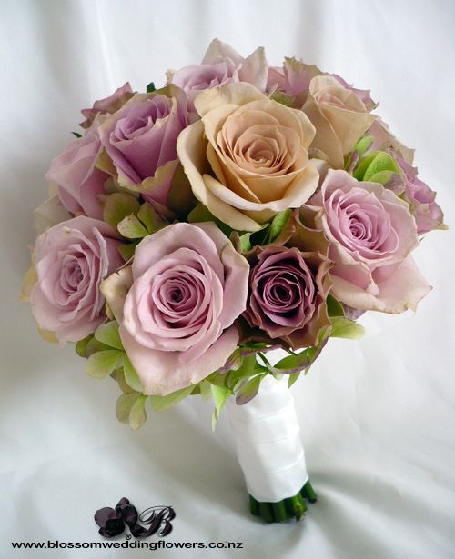 Dusky Pink Rose Bouquet By Blossom Wedding Flowers Via Flickr