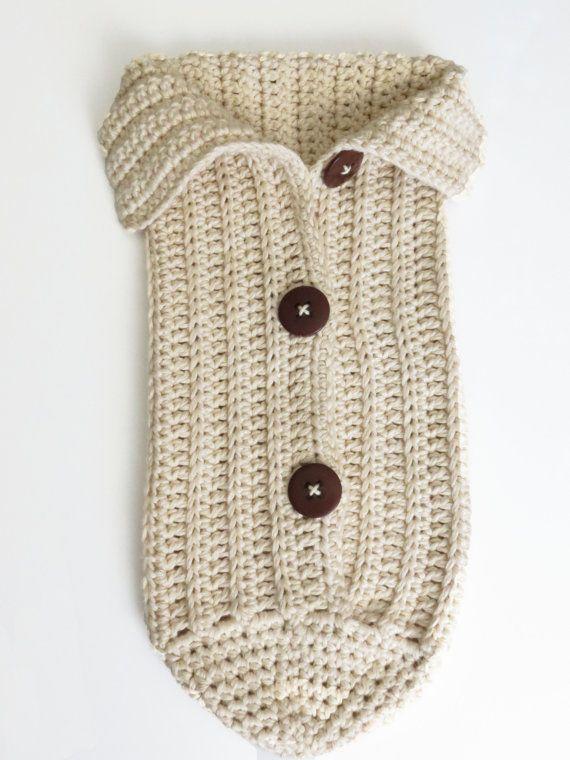Crochet Cocoon Pattern Photo Prop EASY CROCHET PATTERN | Pequeños ...