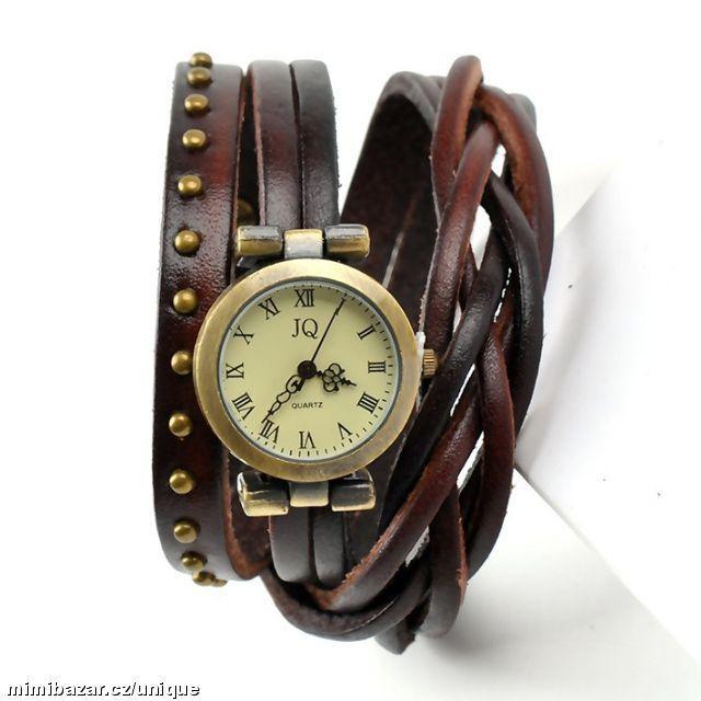 Vintage Retro dámské náramkové hodinky 8 barev  fe8ef7f94b