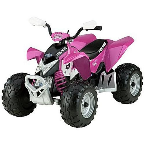 Peg perego polaris outlaw pink 4 wheelers for kids for Peg perego polaris outlaw