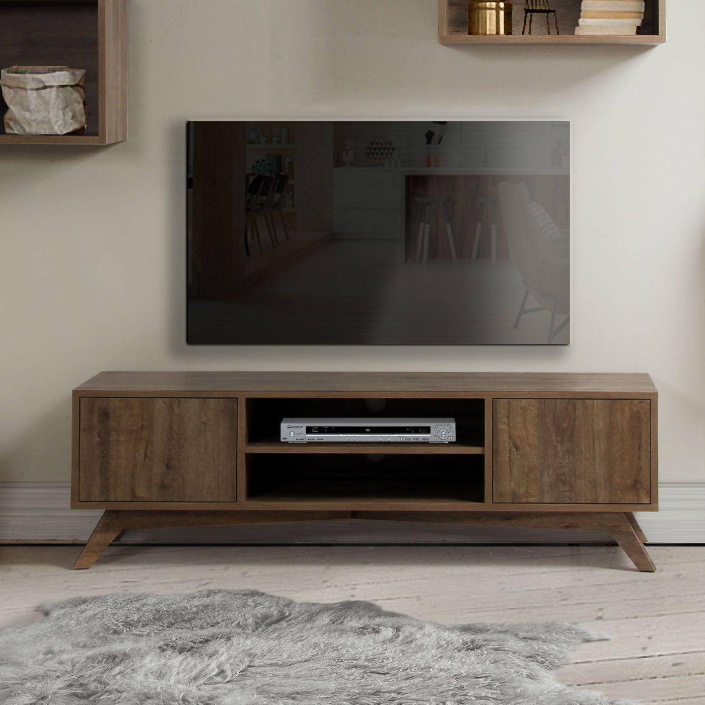 Meuble Tv Design Scandinave Brin D Ouest Meuble Tv Design Meuble Tv Deco Meuble Tele