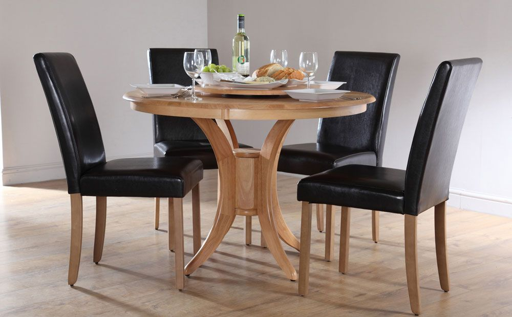 Icon Of Round Dining Table Set For 4