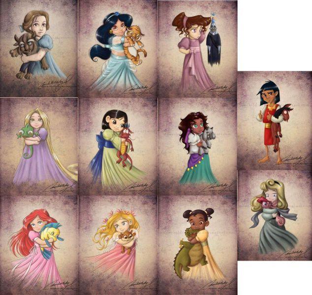 Little Disney princesses... and Cuzco