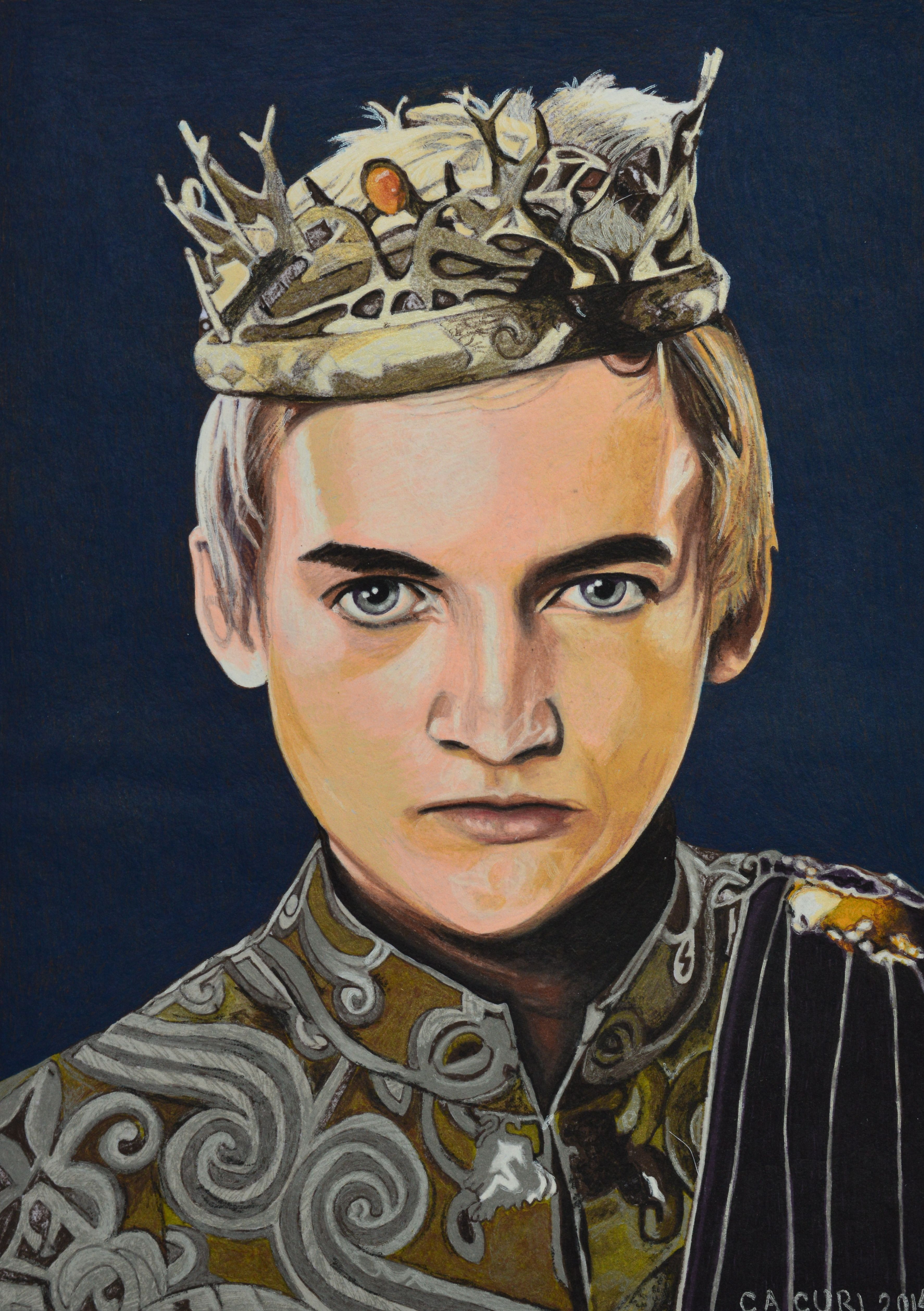 Jack Gleeson as Joffrey Baratheon from Game of thrones ...