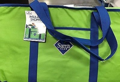 f59a5c1ce3 Jumbo Size Cooler Tote Bag Sams Club insulated Shopping Must-have ...