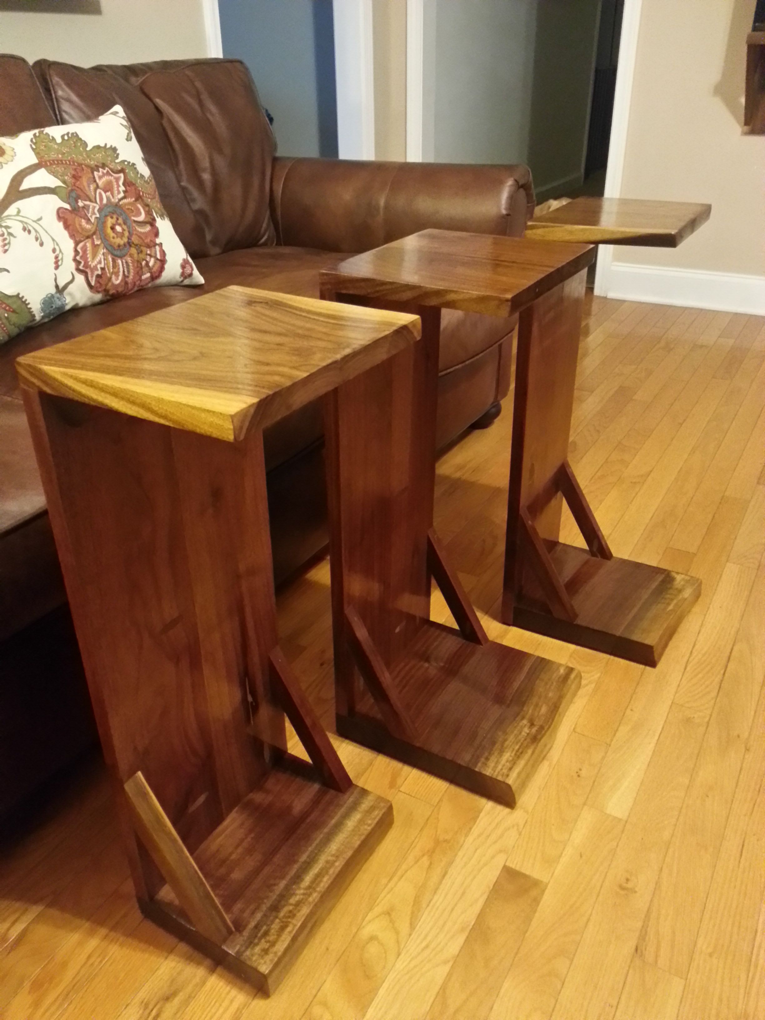 Walnut C Tables Do It Yourself Home Projects From Ana White