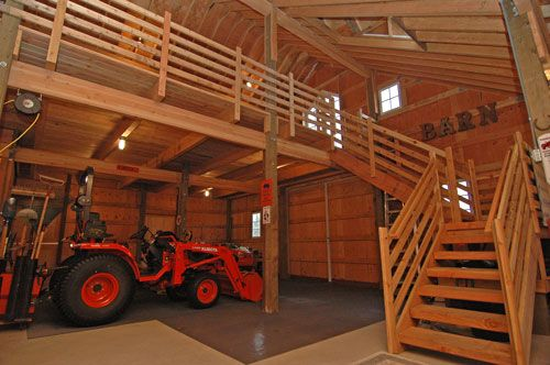 Pole Barn Garage With Loft Google Search Storage Shed
