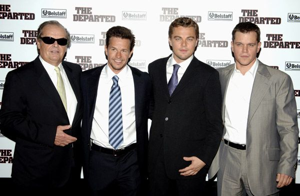 Jack Nicholson Mark Wahlberg Leonardo Dicaprio Matt Damon The