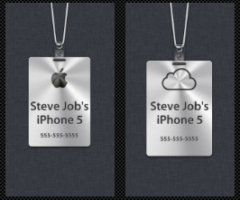 Create Your Own Custom Name Badge To Use As Your iPhone 5