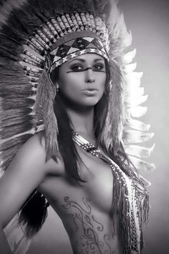 Nude native american indian women