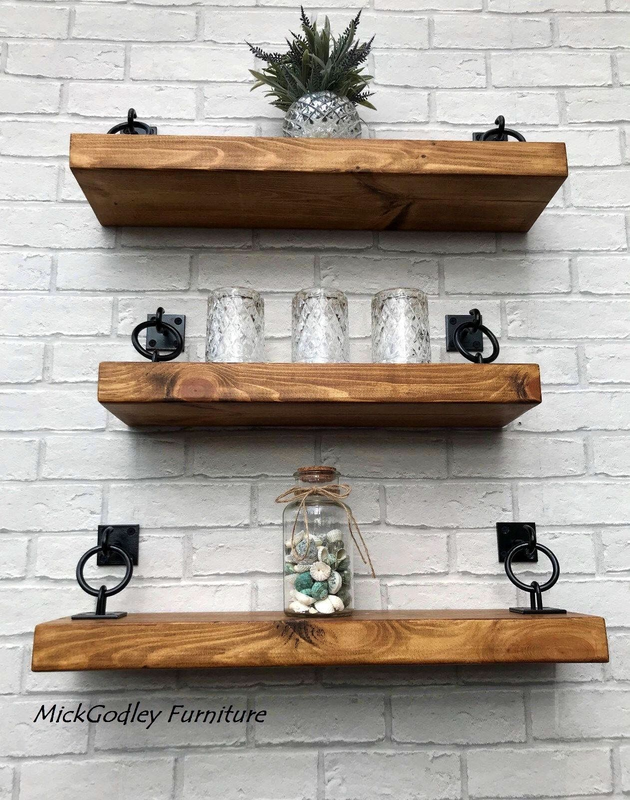 Floating Shelves Shelf Solid Wood