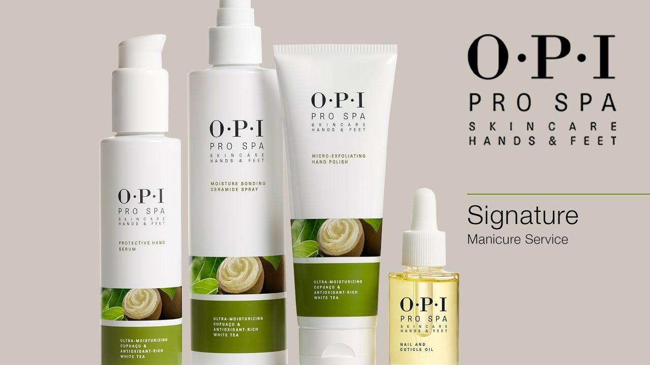 Opi Prospa Manicure Signature Skin Care Spa Skin Care Treatments Opi Manicure