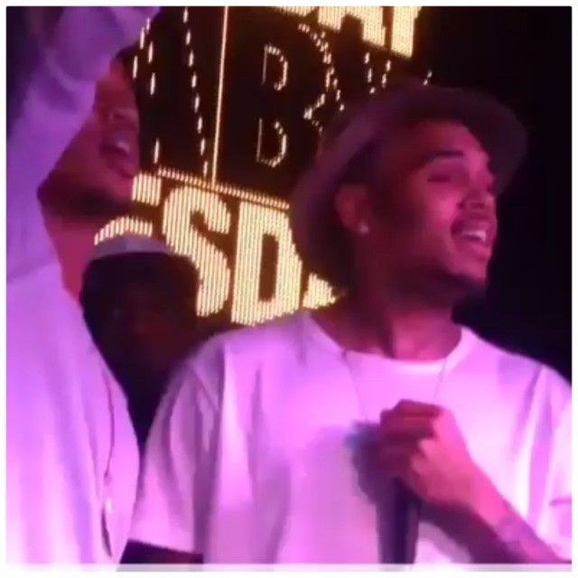 Chris Brown 50 Cent And Trey Songz Brought Down The House At Finale In Nyc Night Life Trey Songz Chris Brown