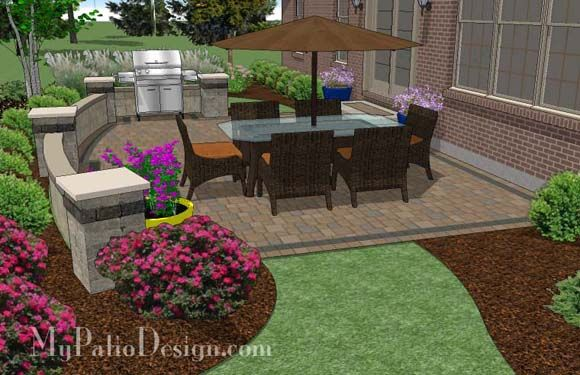 top 25 ideas about patio designs on pinterest outdoor living backyard patio designs and backyards - Backyard Patio Design Ideas