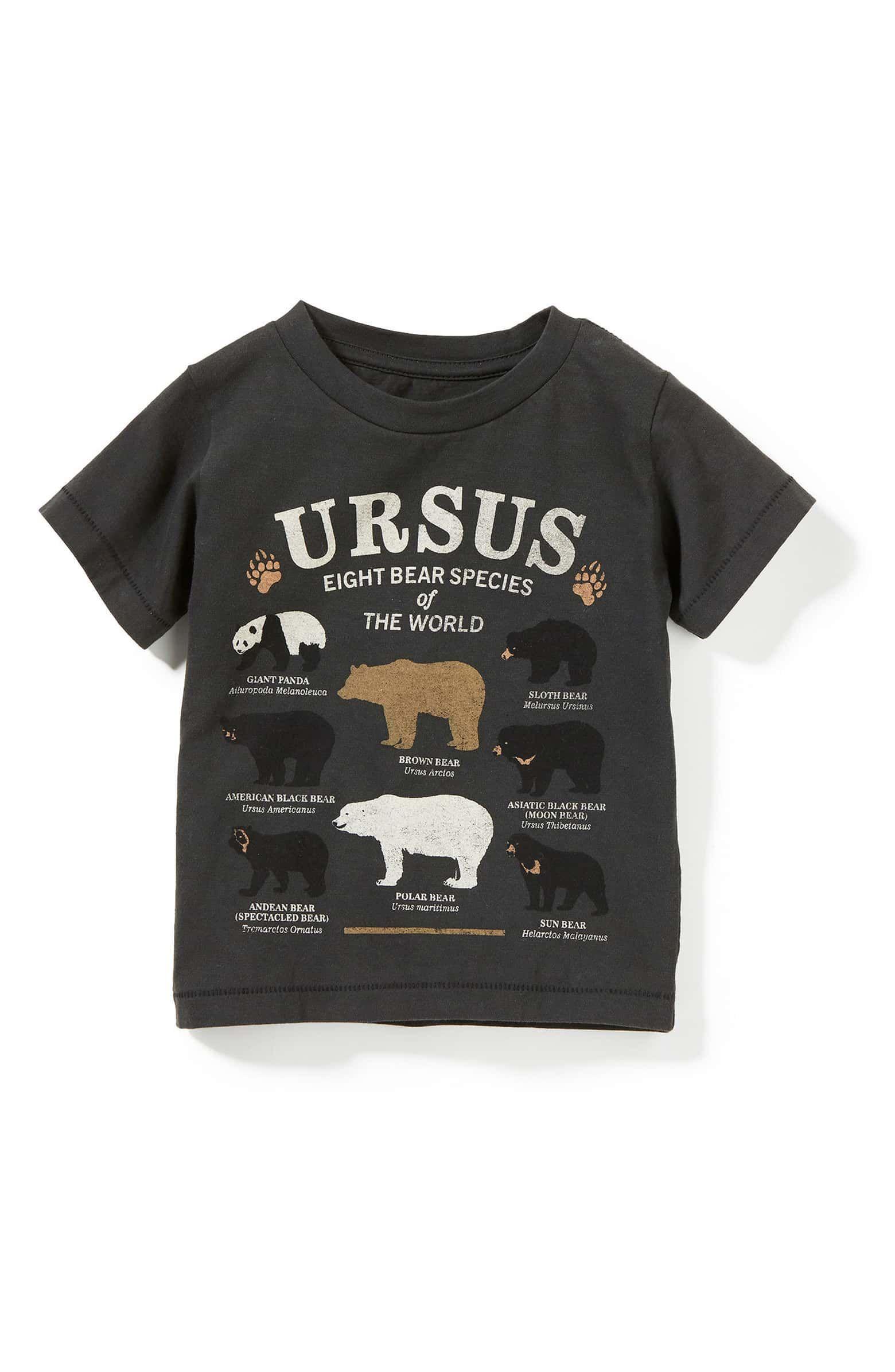 bc77fbf46 Peek Ursus Graphic T-Shirt, Main, color, 001 | Asher Spring/Summer ...