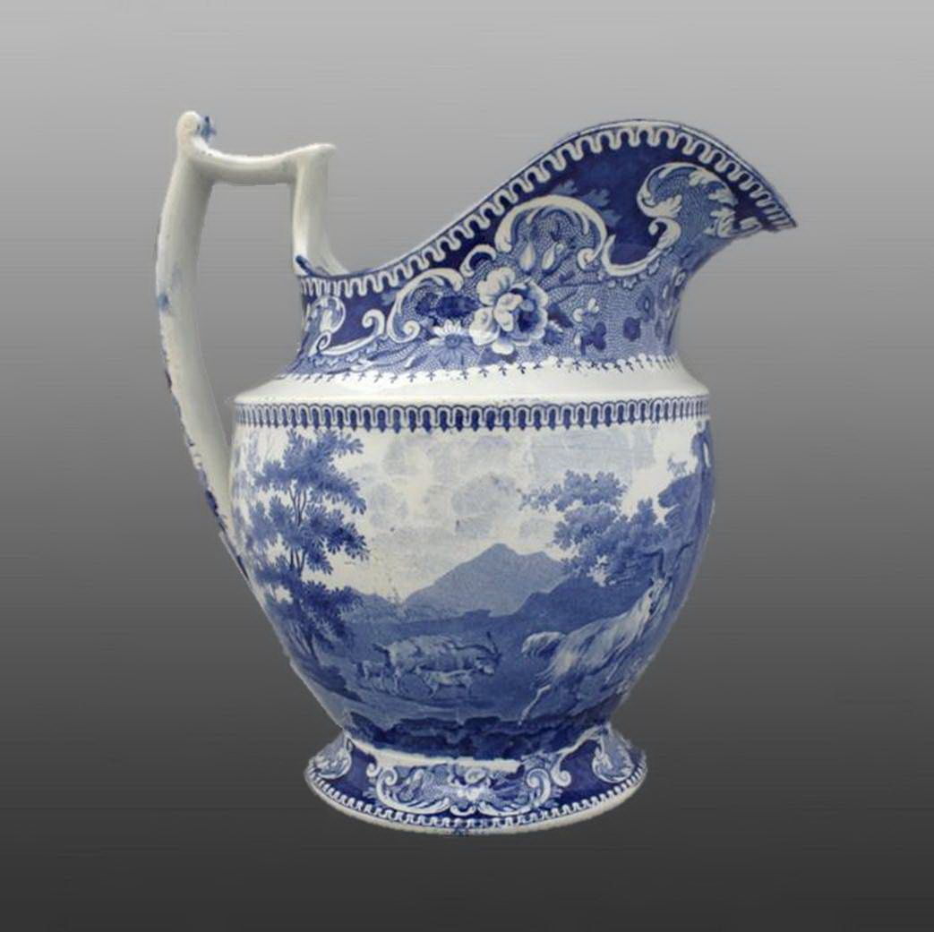 Best Printed British Pottery Porcelain Ewer Pottery 400 x 300
