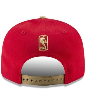 new arrivals cost charm new images of New Era Toronto Raptors Triple Gold 9FIFTY Snapback Cap - Red/Gold ...