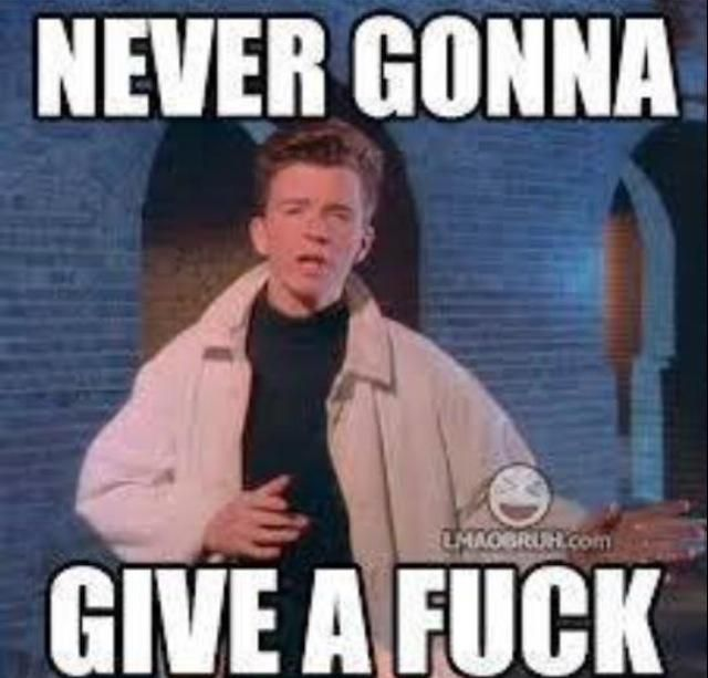 Never Gonna Give A F Rick Astley Funny Commercials Viral Videos Funny