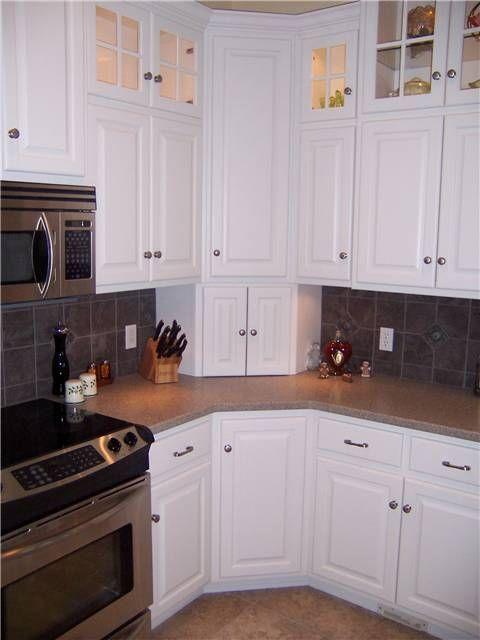Upper Corner Kitchen Cabinet Ideas | Corner cabinets ...