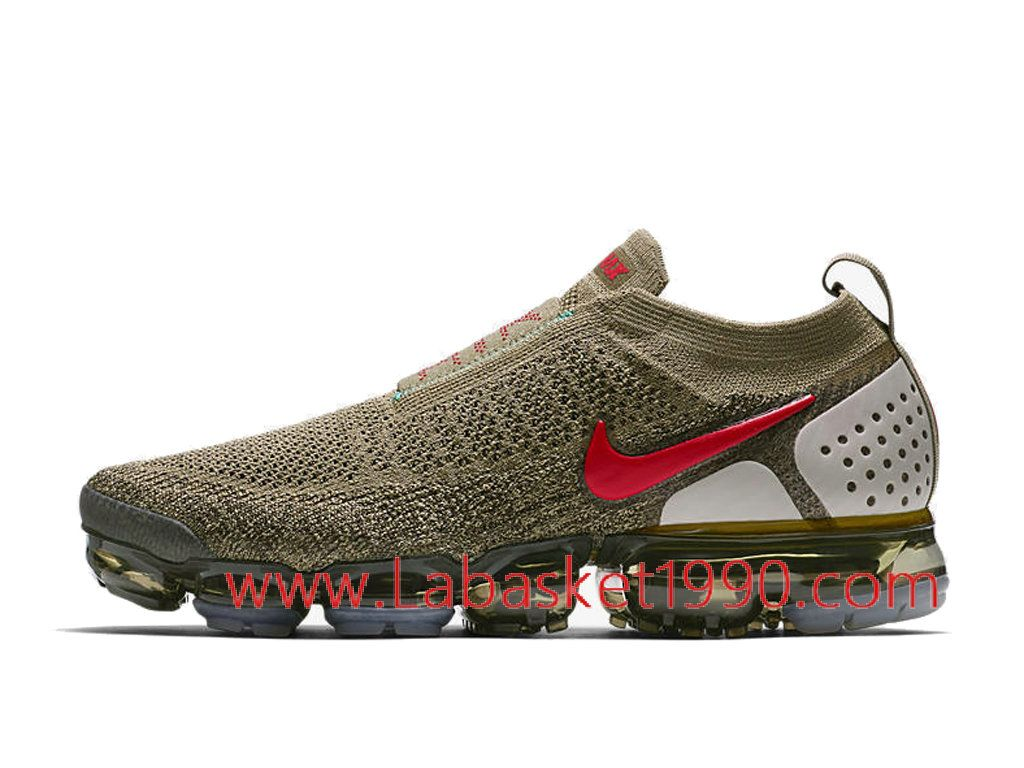 new style ce5ad db2fa Nike Air VaporMax Flyknit 2.0 Moc AH7006-200 Chaussures Officiel 2018 Pas  Cher Pour Homme